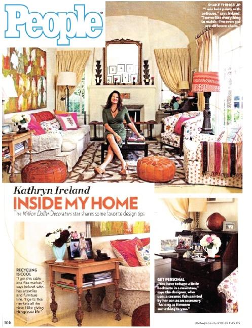 Kathryn Ireland In People Magazine