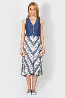 Casual dress with unique geo patterns