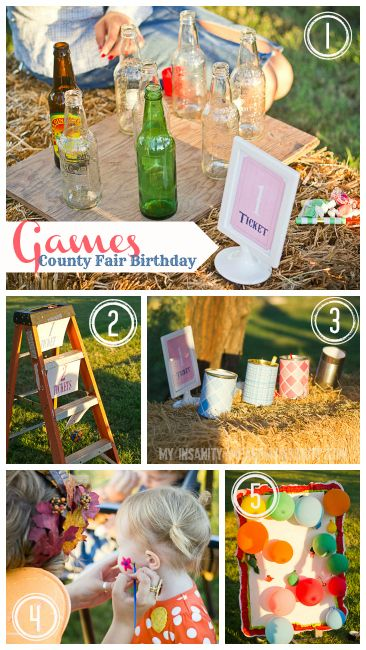 awesome county fair themed party. such a great idea for a labor day weekend party!!! agh! I can't wait til he's here!!
