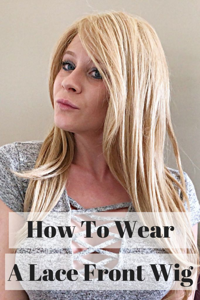 how to make a lace front wig tutorial