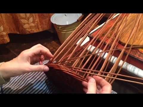 (866) Плетение верёвочки в 5 и 4 пр.Переход с ряда на ряд.Подробное видео. - YouTube