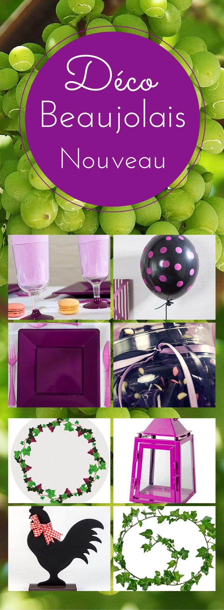 17 Best Images About Dco Beaujolais Nouveau On Pinterest Satin Roses And Violets
