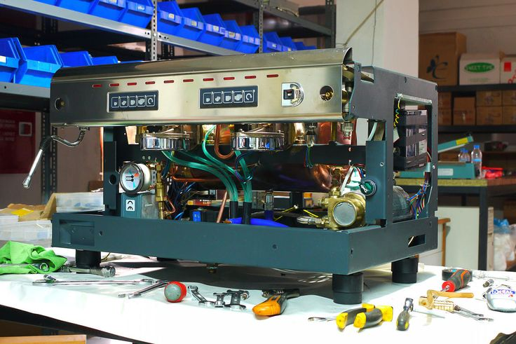 Dayo Hellas Service | Service μηχανών espresso - πωλήσεις | Reneka Cafina rebuild colourful