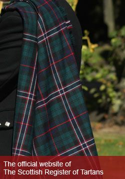 Tartan Plaid. Image courtesy of K Davies, 2010 from https://www.tartanregister.gov.uk/index.aspx