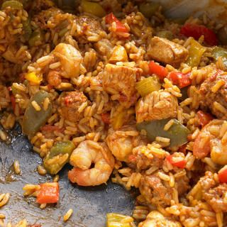Son-of-a-Gun Jambalaya http://www.prevention.com/food/healthy-recipes/healthy-low-calorie-slow-cooker-recipes/picadillo-stuffed-peppers