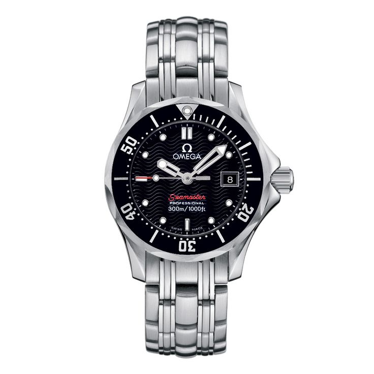 Omega Seamaster Diver 300M Ladies Watch 0002266 Beaverbrooks the Jewellers
