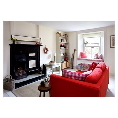 112 Best Red Themed Living Rooms Images On Pinterest