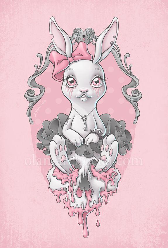 Princess Bunny by aleksandracupcake on deviantART