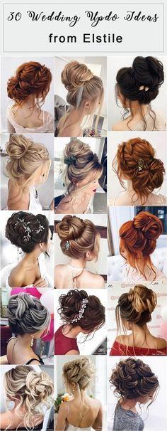 Elstile Long Wedding Hairstyles and Updos #weddinghairstyles #bridalhairstyles #promhairstyles #weddingupdos http://www.deerpearlflowers.com/elstile-long-wedding-hairstyles-and-updos/