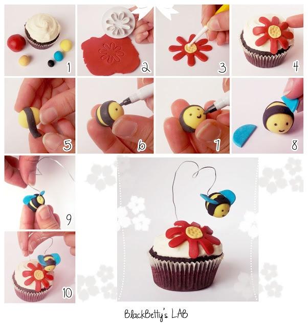 BlackBetty'sLab: bee cupcake