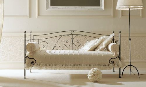 Traditional wrought iron single bed FELIPE SOFA GIUSTI PORTOS