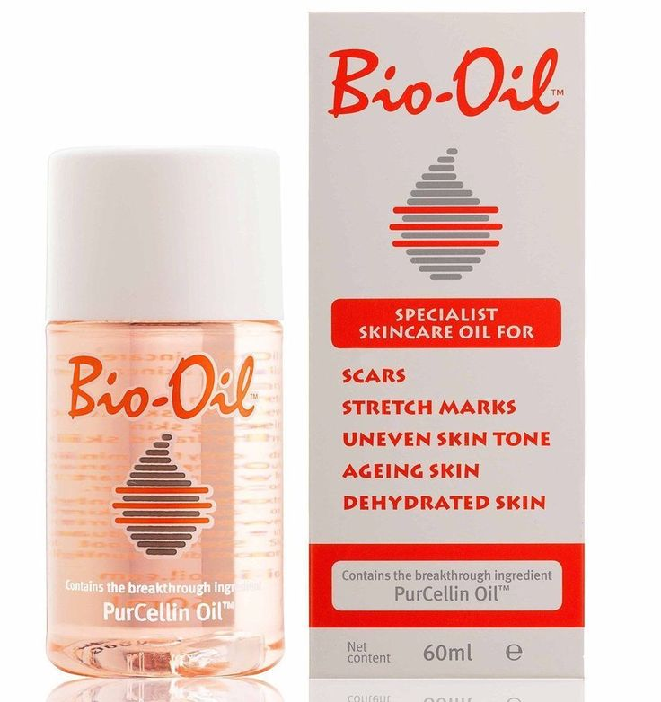 Bio Oil Purcellin Oil 60ml (2oz) Skincare for Stretch Mark Scar Uneven Skin Tone #BioOil