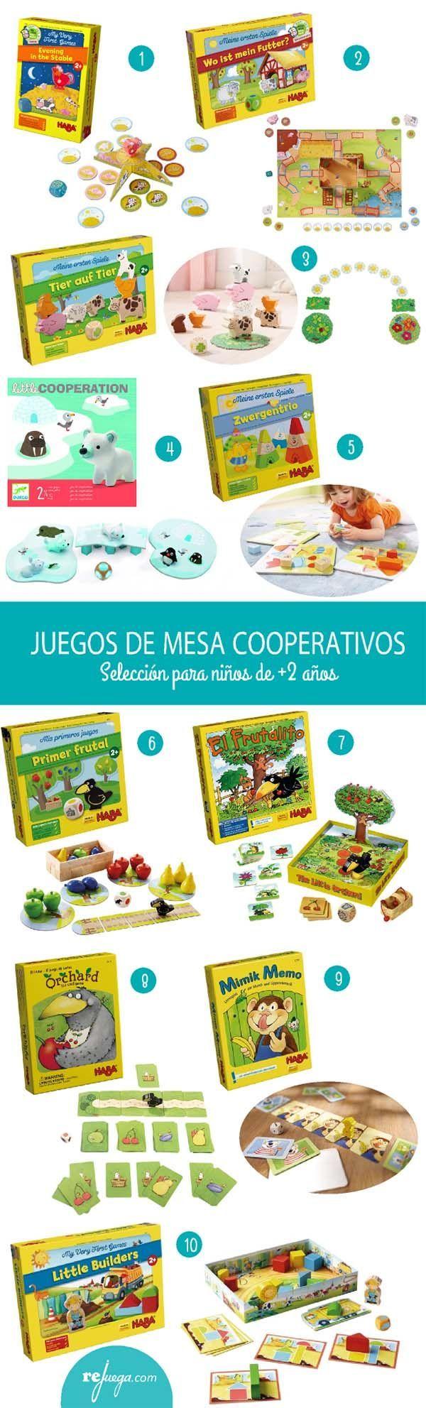 juegos de mesa cooperativos para niños de más de 2 años