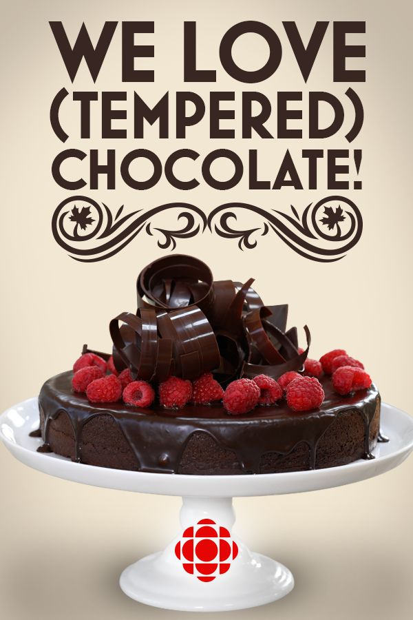 Take your cake from average to amazing with this simple technique for tempered chocolate