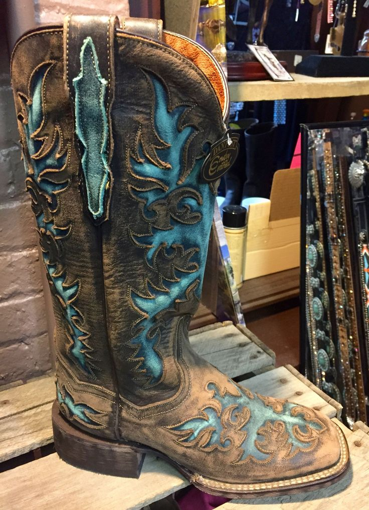 DAN POST WOMEN'S COWBOY BOOTS DP3912 TOUCHE II | Cowby Boots and Western Clothing | Painted Cowgirl Western Store