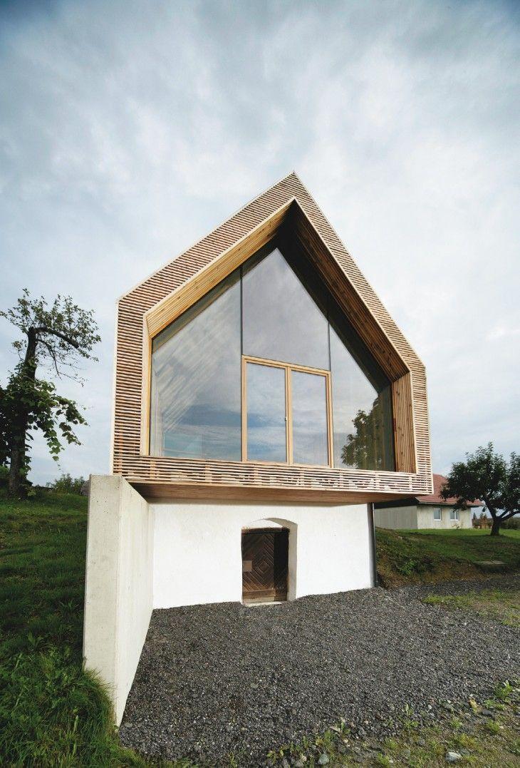 Yes architecture ferienhaus im sausal steiermark klein for Modernes haus graz