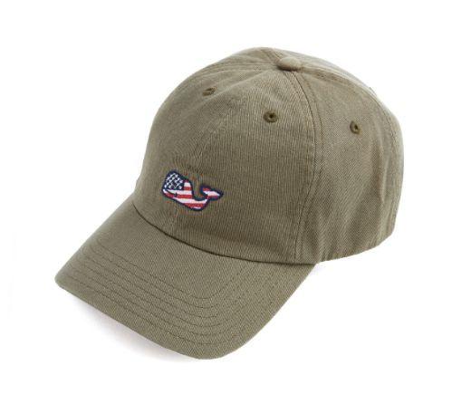 put patriotism proudly front center vineyard vines whale flag baseball hat killer cap