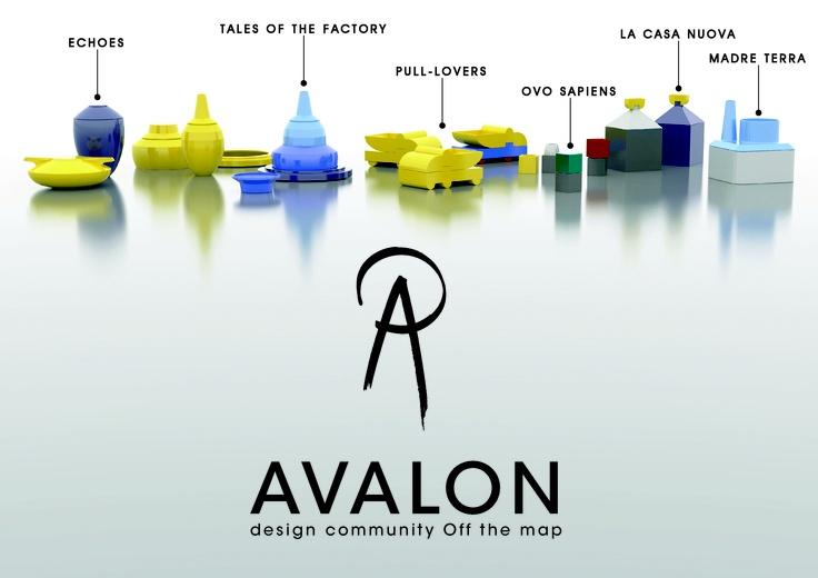 AVALON mette in gioco l'alta qualità dei processi progettuali, più volte condivisa e sviluppata attraverso un'attenzione al prodotto tipica  della perizia artigianale.  >>> ECHOES  >>> TALES OF THE FACTORY  >>> PULL LOVERS  >>> OVO SAPIENS  >>> LA CASA NUOVA  >>> MADRE TERRA