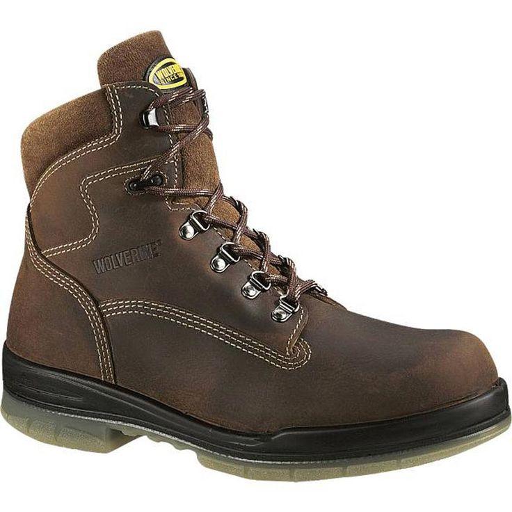 Wolverine Men's DuraShocks® Waterproof Insulated Work Boots