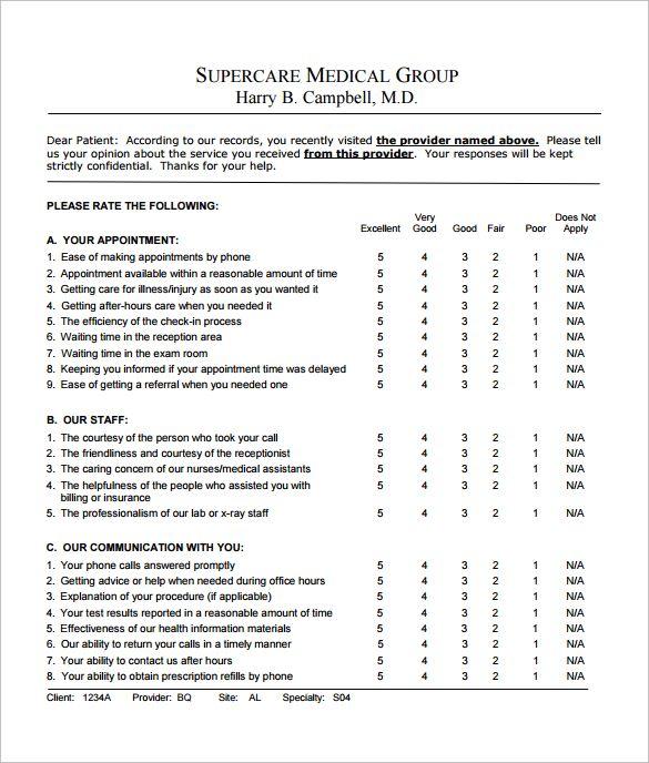 Patient Satisfaction Survey Questions Survey Template Employee Satisfaction Survey Survey Questions