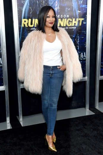 Fab in short fur---> Garcelle Beauvais