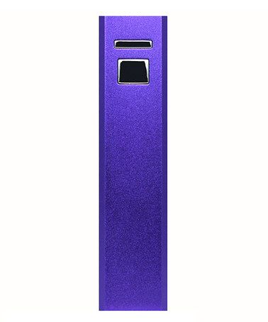 Another great find on #zulily! Purple 3,000-mAh Powerbar Charger #zulilyfinds