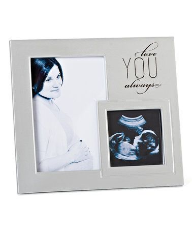 roman silver love you always ultrasound frame