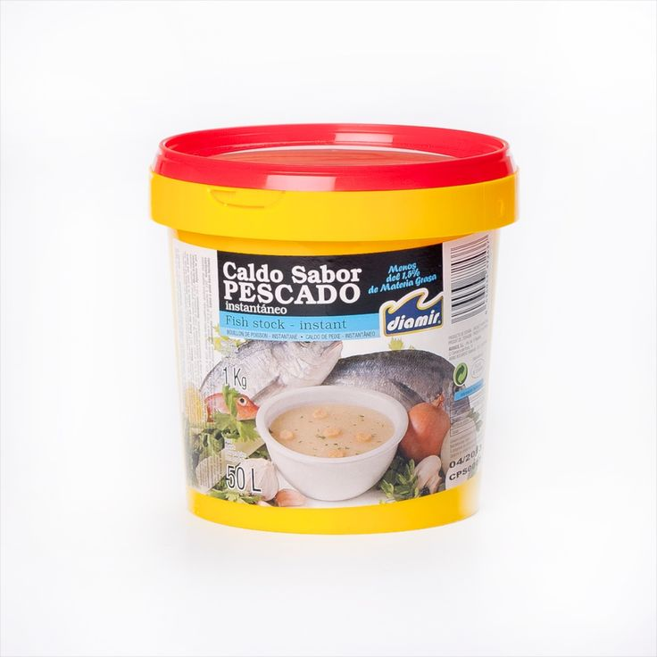 Give you seafood paella a kick of flavour with this special fish stock.   Unless you have time to prepare a rich stock from fish and seafood from scratch, the flavour of your paella might be let down.  Avoid bland paellas with this tasty stock.