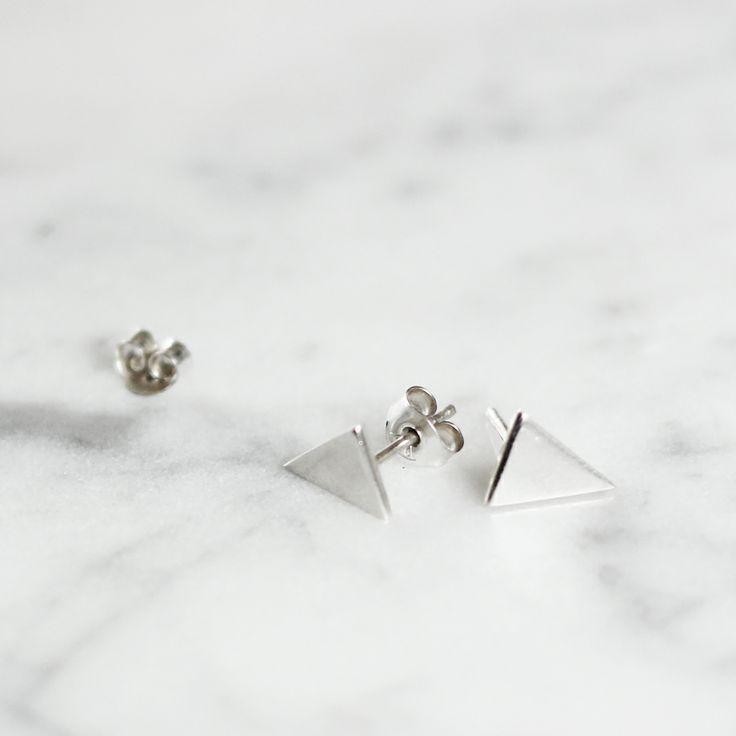 Cooee triangle earring