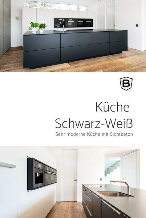 Kuche Schwarz Weiss In 2019 Kuche Schwarz Kuche Schwarz Weiss Und Kuche Weiss Holz