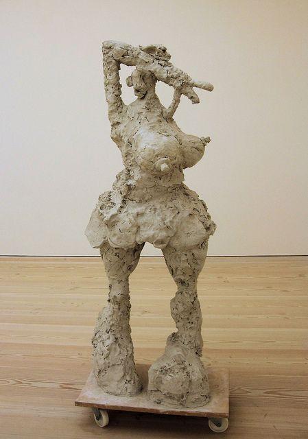 She by Rebecca Warren,Saatchi Gallery - London. by Jim Linwood, via Flickr