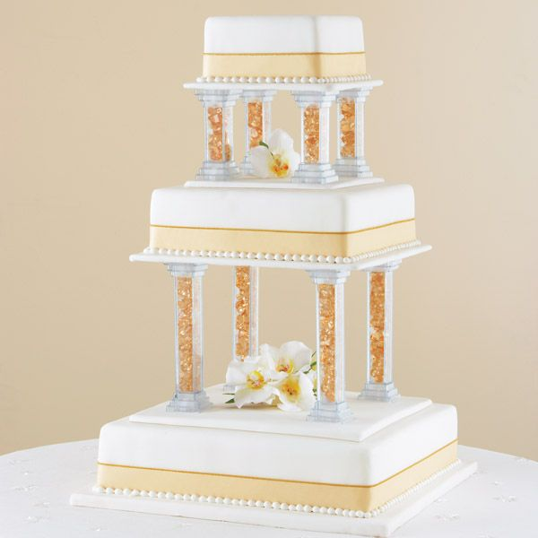how to use cake pillars for wedding cakes 86 best pillar wedding cakes images on 16190