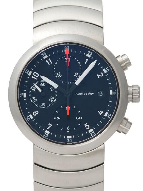 Audi Design Circle Chronograph Clock Watch