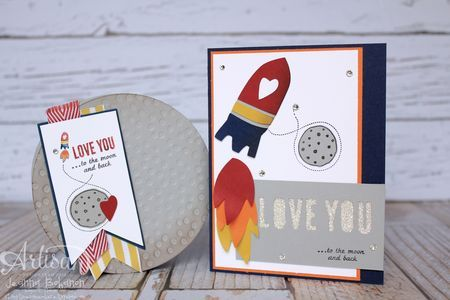Fun projects with Love You to the Moon2014 Cases, Cards Ideas, Kids Cards, Stampin Up, 2014 Opportunity, Cards Children, Artisan Design, Cards Kids, Moon Pies