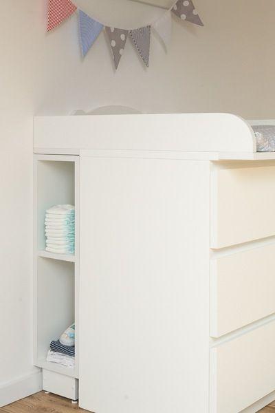 Wickeltischregal für IKEA Kommode