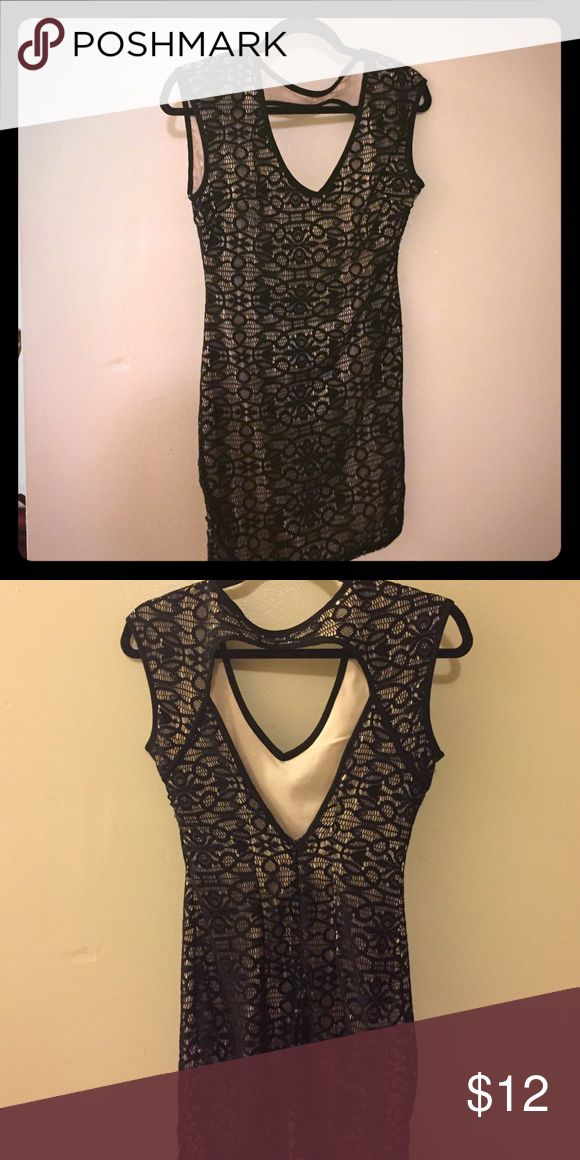 Black and Cream going out dress Great for dinner or the night out one clothing Dresses Mini