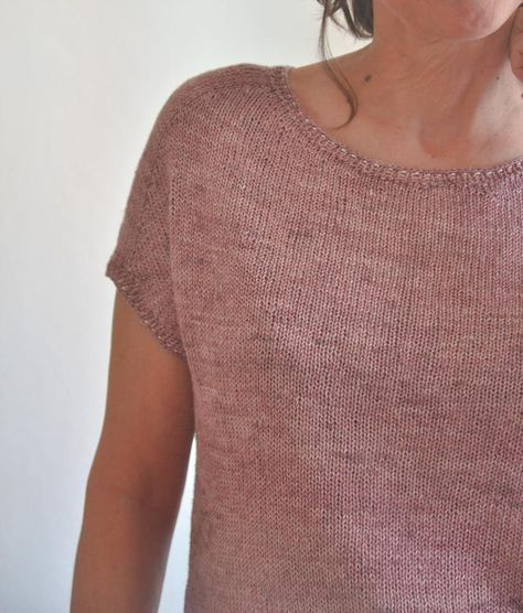 Create This Simply Chic Knitted Lace Top That Will Add