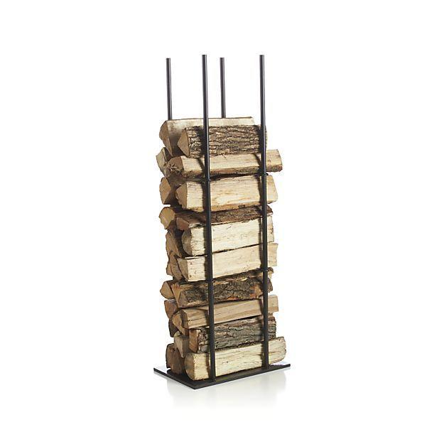 frame log holder crate and barrel log holder safe