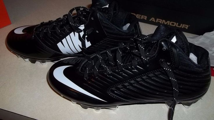 New $100 Nike Vapor Speed Low TD Mens Football Cleats - Black Size 6.5