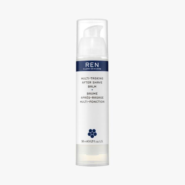 Le Baume après-rasage Multi-Fonction de REN est le couteau-suisse du soin après-rasage naturel : il apaise le feu du rasoir, réduit les rougeurs et autres irritations, aide à la cicatrisation des micro-coupures, prévient les poils incarnés, protège la peau du stress oxydatif, hydrate durablement la peau et le tout, sans brillance !  Action ultime : le baume après-rasage REN contient des biosaccharides extraits du sucre qui stimulent la production de bêta-endorphine, connue comme la molécule…