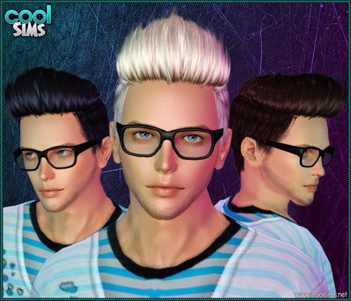 Fantastic CC, sims3hairresource: Cool Sims Male Hair 104 ...