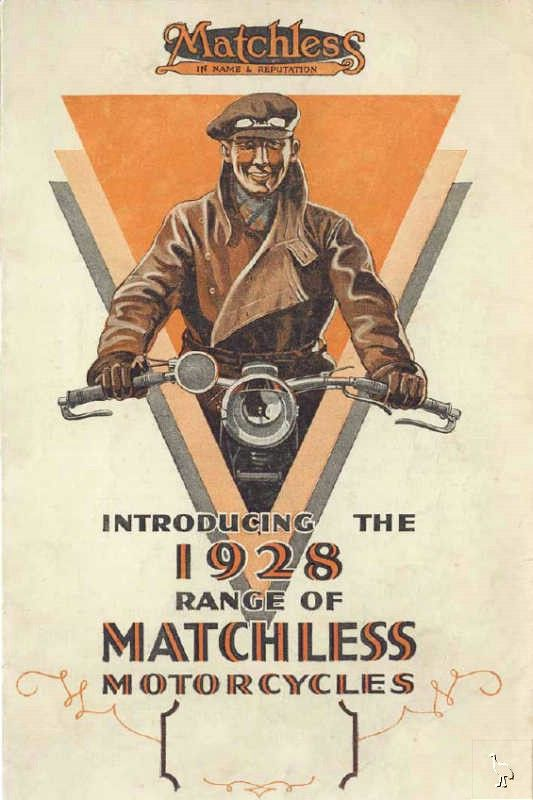 Another great poster from matchless motorcycles