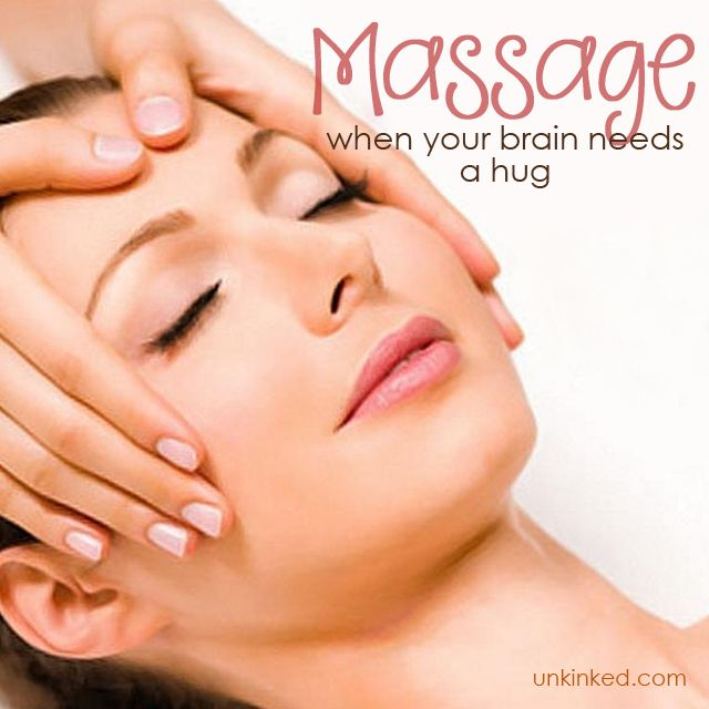 Massage when your brain needs a Hug  #Unkinked #MobileMassage #Therapy #Unwind #Relax #Calmyourmind #Rejuvinate
