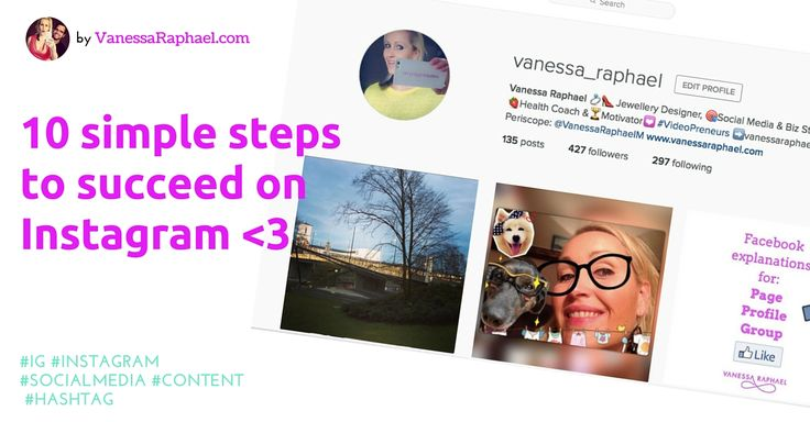 10 Simple steps to succed on Instagram <3 #Instagram