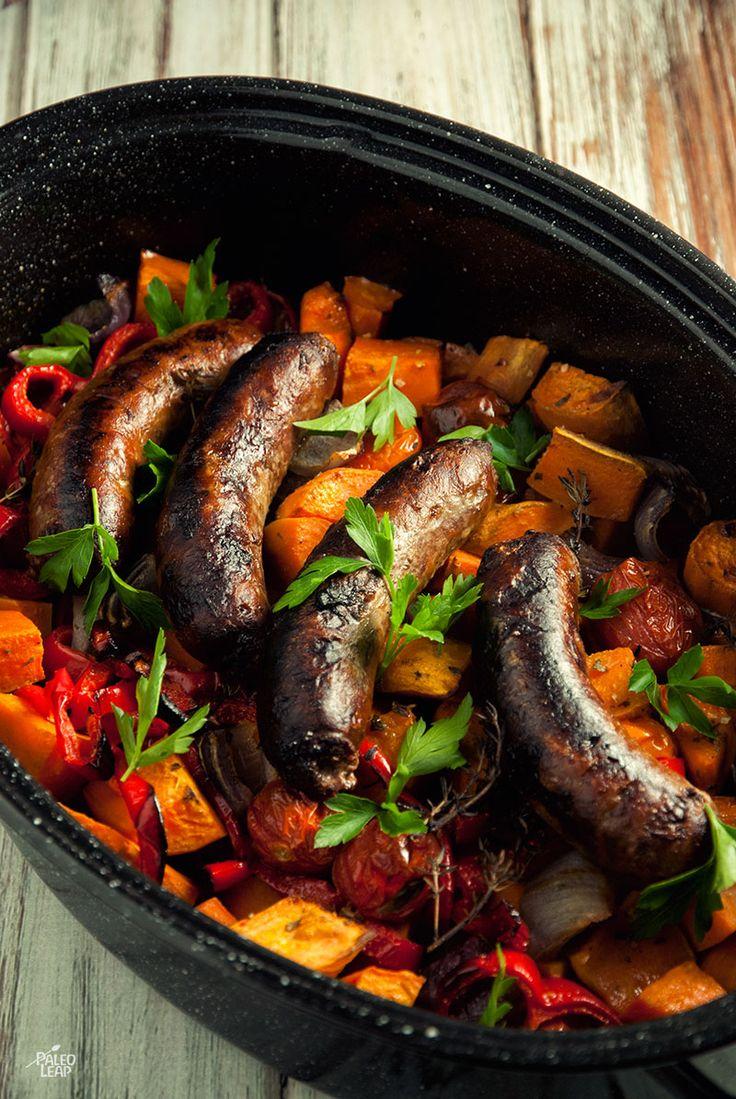 Simple Sausage Casserole #Paleo