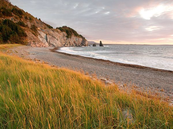 Cape Breton: One-fifth of Cape Breton is preserved as a national park, laced by 25 hiking paths and looped by the Cabot Trail. When to Go: May-October; Celtic Colours annual international music and cultural festival, early October