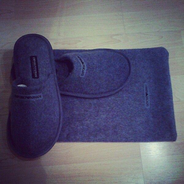 Pantofole di lana cotta