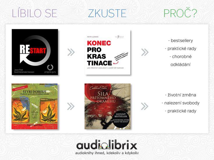Líbila se vám jedna audiokniha? Druhá bude také. A my vám řekneme proč.