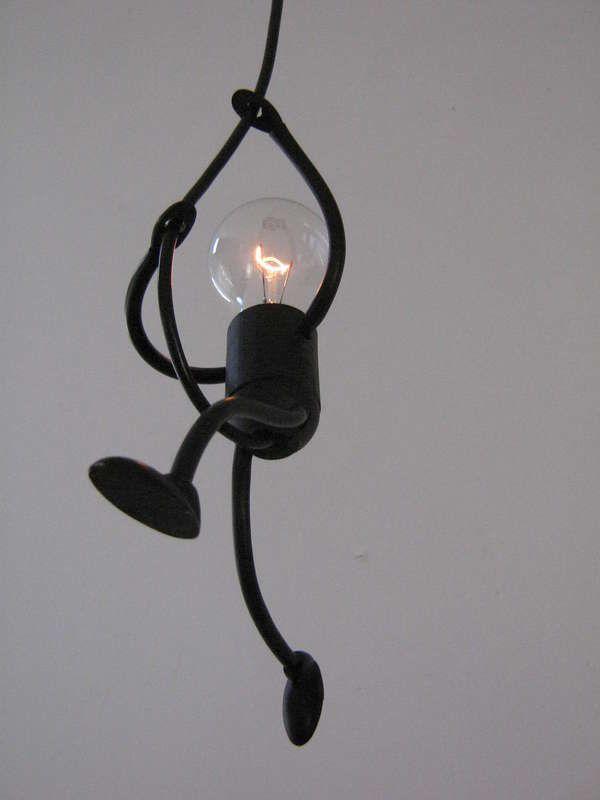 Lamp Lampje, uniek en sfeervol handgemaakt design - KlimLampje Solo