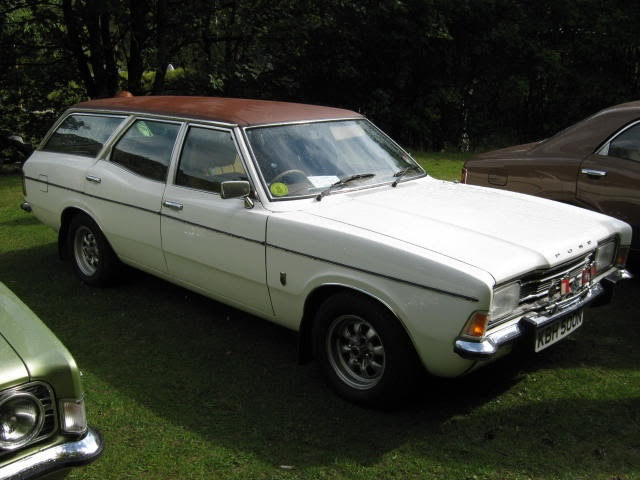 Number five a  1972 200E Cortina estate. I was still doing discos